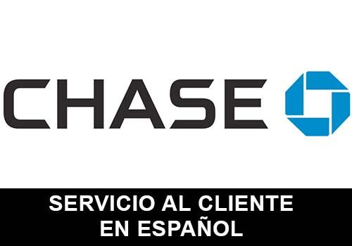 Chase telefono servicio al cliente en español