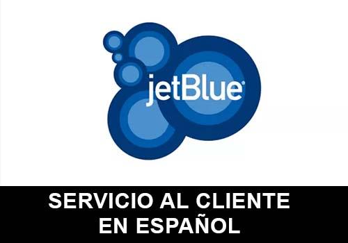 Jet Blue telefono servicio al cliente en español