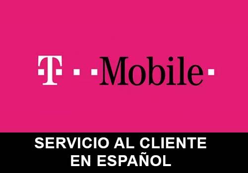 T Mobile telefono servicio al cliente en español