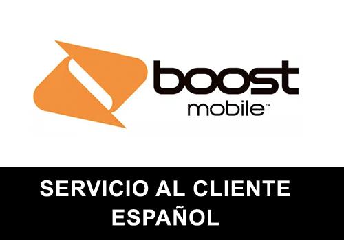 Boost Mobile telefono servicio al cliente en español