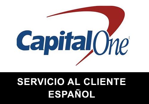 Capital One telefono servicio al cliente en español
