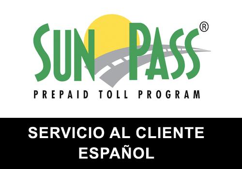 SunPass telefono servicio al cliente en español