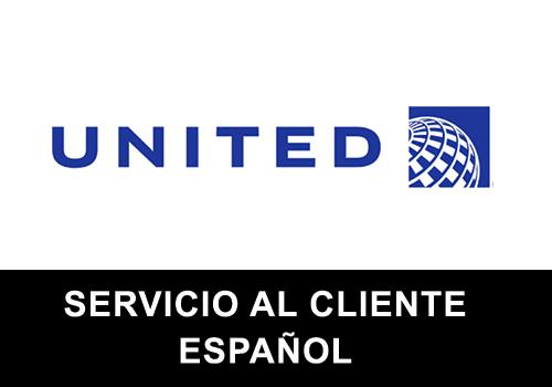United Airlines telefono servicio al cliente en español