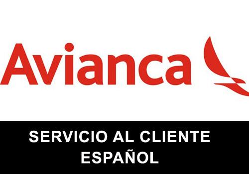 Avianca telefono servicio al cliente en español