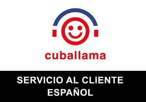 Cuballama telefono servicio al cliente en español